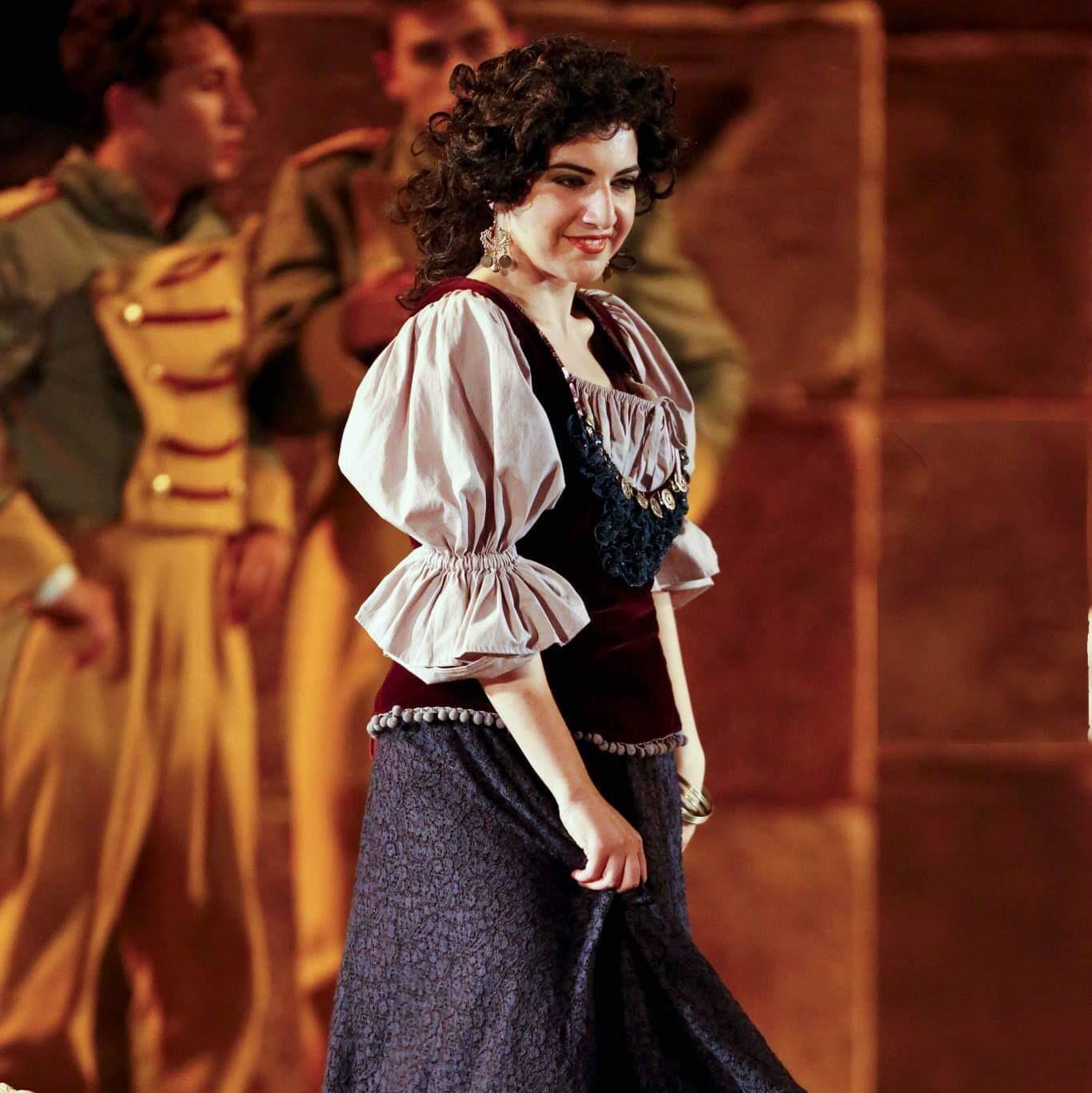 Sarah Baratta - Carmen di G. Bizet, Teatro Antico Taormina