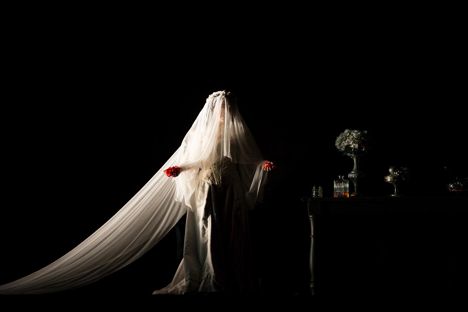 """Sarah Baratta - foto di scena """"Lucia di Lammermoor"""""""