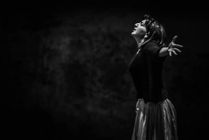 """Sarah Baratta - foto di scena """"Lucia di Lammermoor"""" Lucca"""