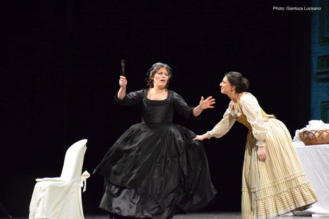 Sarah Baratta - Le nozze di Figaro di W. A. Mozart, Teatro Cilea di Reggio Calabria
